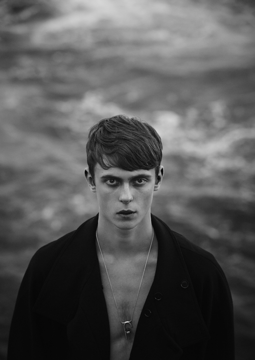 Gustaaf Wannink at UNO Models, Barcelona by Eduardo Miera