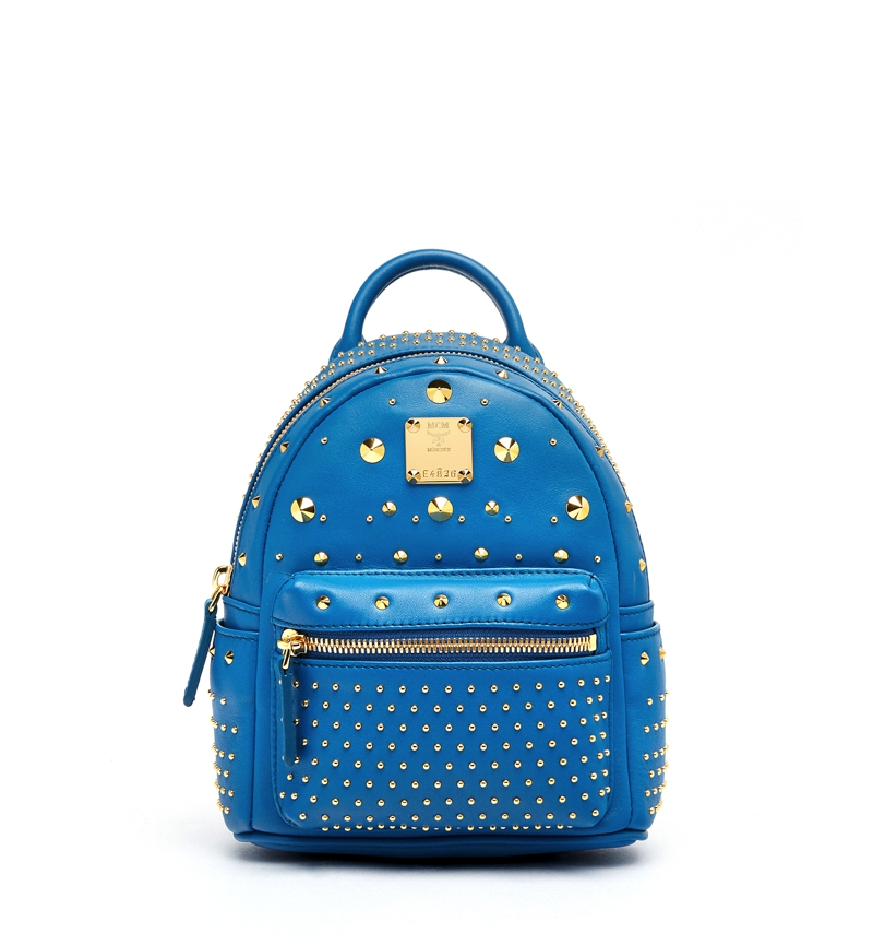 MCM AW16 Stark Special_Backpack X-Mini Munich Blue £1.335