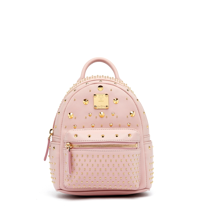 MCM AW16 Stark Special_Backpack X-Mini Pale Mauve £1,335